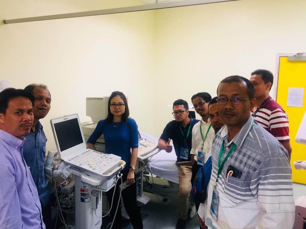 CVS Medical Malaysia Philips 3D Echo 2018 MSCVT and Philips 3D and Strain Workshop